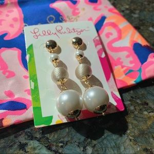 Lilly Pulitzer Pearl Perfect Earrings